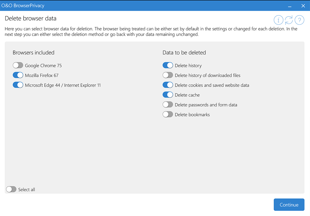 O&O BrowserPrivacy Crack 16.6 Build 69 With License Key [Latest] 2021