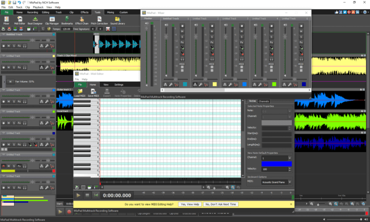 NCH MixPad Masters Edition Crack 7.77 With Keygen [Latest] 2022